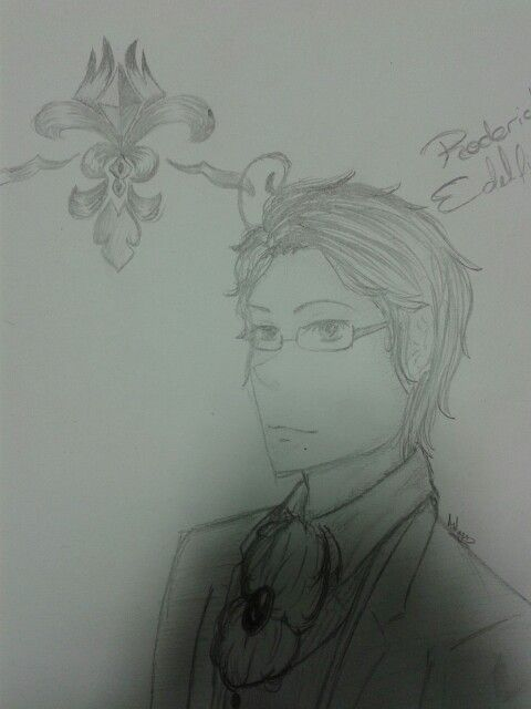 Austria/Roderich Edelstein from Hetalia. The bae.