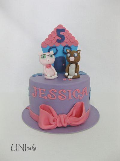 C216. Littlest Pet Shop -kakku. Littlest Pet Shop cake