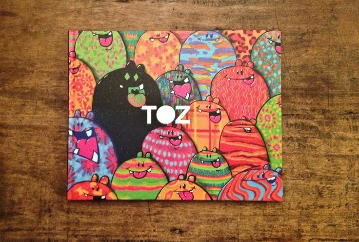 #toz #street #art #brazil #book #graffiti