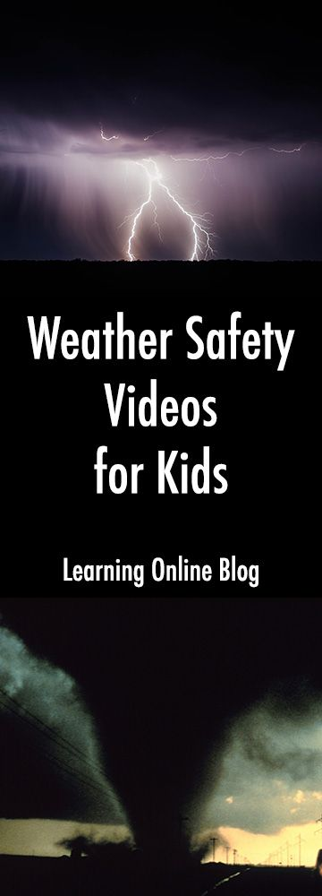 These weather safety videos for kids can help keep your family safe in bad weather.