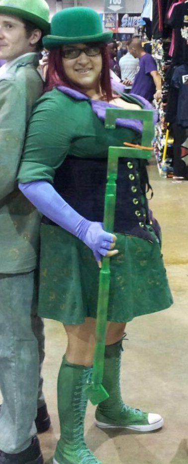Female Riddler from the video game Batman Arkham City; Sandra Gamboa; unknown