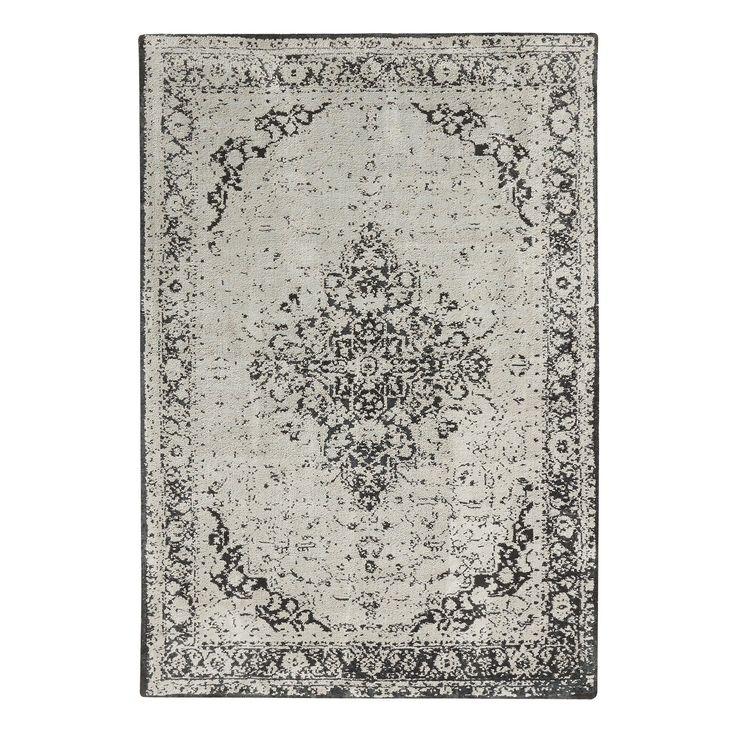 Vloerkleed Tabriz grijs/groen 160x230 cm kopen? Verfraai je huis & tuin met Laagpolige vloerkleden van KARWEI