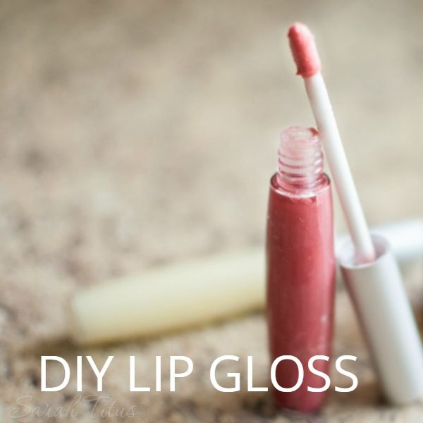 I love using lip glosses that tint the lip color and aren't super wild personally, so this DIY Lip Gloss is perfect for that. You can just tint it with natural ingredients or leave it plain with no color!