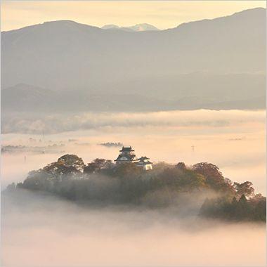 越前大野城の写真