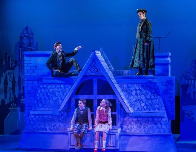 43 Best Images About Mary Poppins Set Design On Pinterest