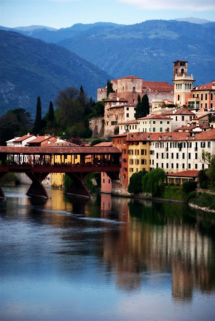 Bassano del Grappa, Italy birthplace of Grappa. Been there and I even remembered it all after all day Grappa tasting