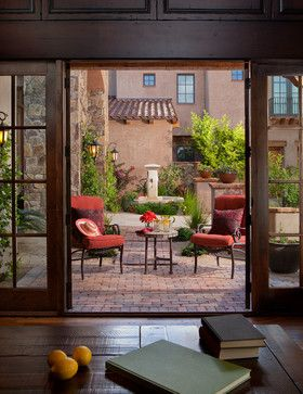 Courtyard Design Ideas, Pictures, Remodel, and Decor - page 15
