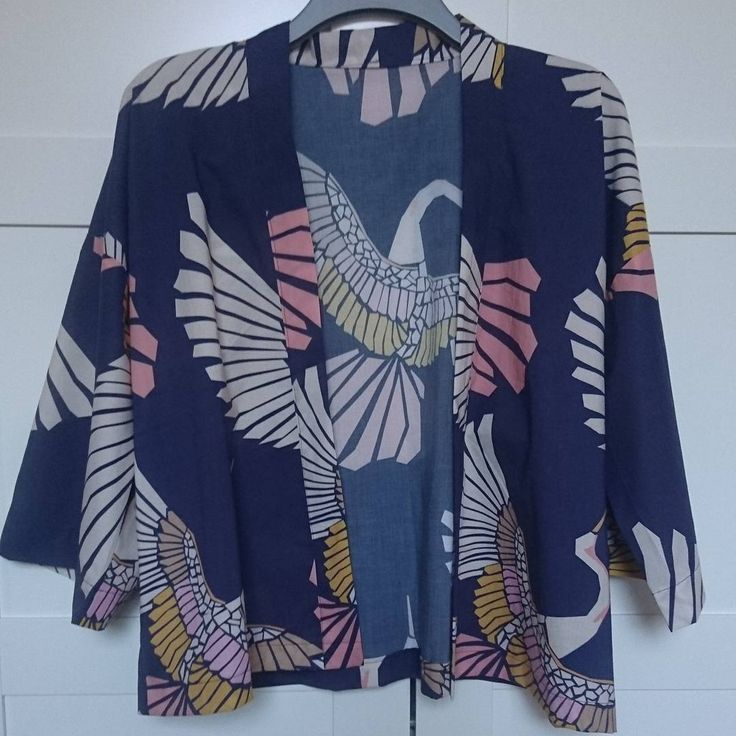 A birthday present for my sister, the Sew Over It Kimono Jacket in their fabric too. Can't wait to make one for me