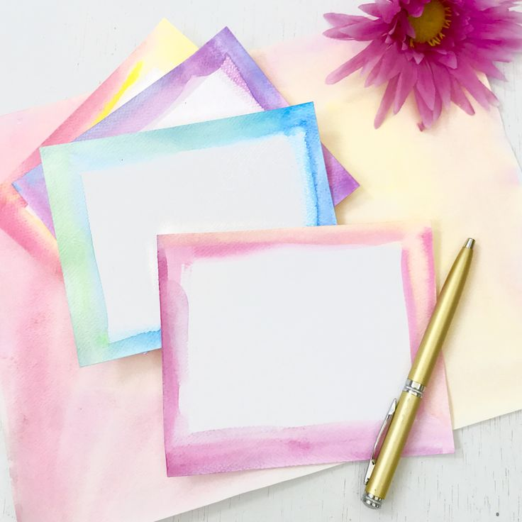 Handmade gifts don't need to me complex nor take a long time to make. You can make these handmade watercolor notecards in under 15 minutes. It takes more time to gather the materials and wet the paint colors than it does to create the cards. Pick whatever colors you'd like. Create pretty blends of orange …