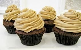 Chocolate Guinness Cupcakes---Precursor to the frosting...