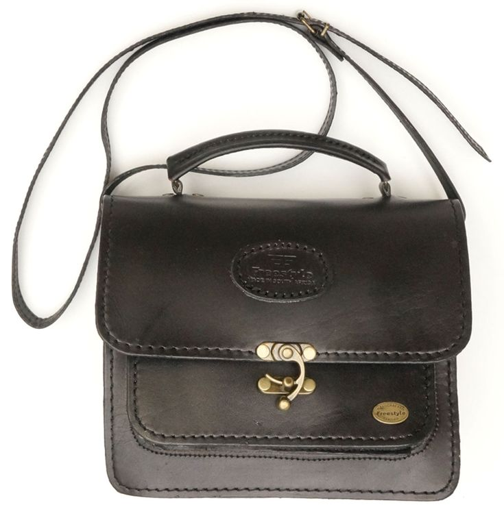 Freestyle Gillian II Black Handmade Genuine Leather Handbag. R 1'499. Handcrafted in Cape Town, South Africa. Shop online https://www.thewhatnotshoes.co.za Free delivery within South Africa.