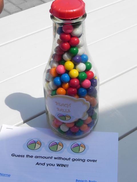 "Photo 20 of 20: Beach Balls & Bright Colors / Summer ""Splish Splash Pool Party""   Catch My Party"