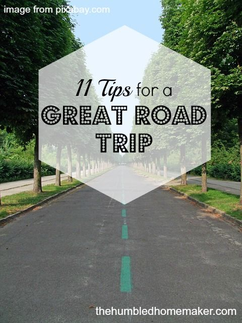 We are getting ready to go on another road trip! These road trip tips will really help us along the way!