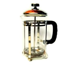 Cafetière à piston 600 mL - Paroi en verre 12,99 € Cafetière à piston contenance 600 ml. Couvercle et mécanisme en inox. #café #cafetière #inox #coffee