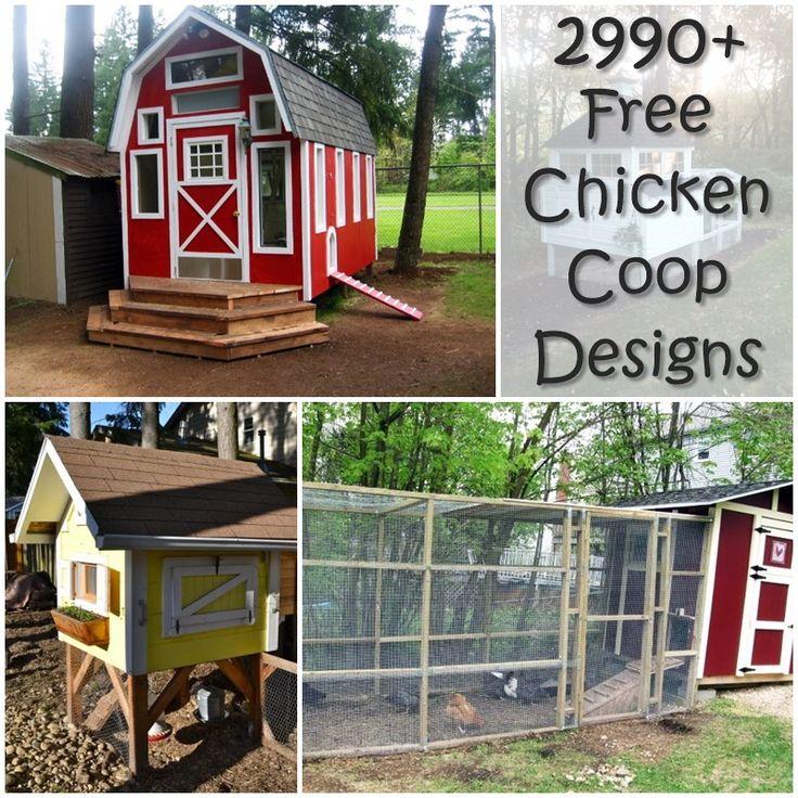 2416 FREE Chicken Coop Ideas,diy,homesteading,gardening,how  To,prepping,survival,chickens,plans,free,frugal,garden, | Raising Chickens  | Pinterest | Free ...