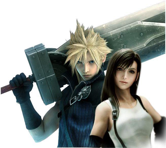 Final Fantasy Cloud Strife Wallpaper: 25+ Best Ideas About Tifa Lockhart On Pinterest