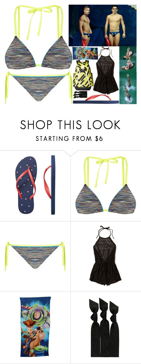 """""""diving w/ jack laugher & chris mears"""" by silent-killer ❤ liked on Polyvore featuring Gap, Sweaty Betty, Hollister Co., Emi-Jay and NIKE"""