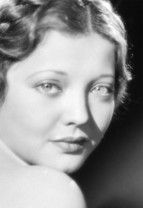 Sylvia Sidney - 1930's - @~ Mlle - she played Madam Butterfly (1932) - cried my heart out.