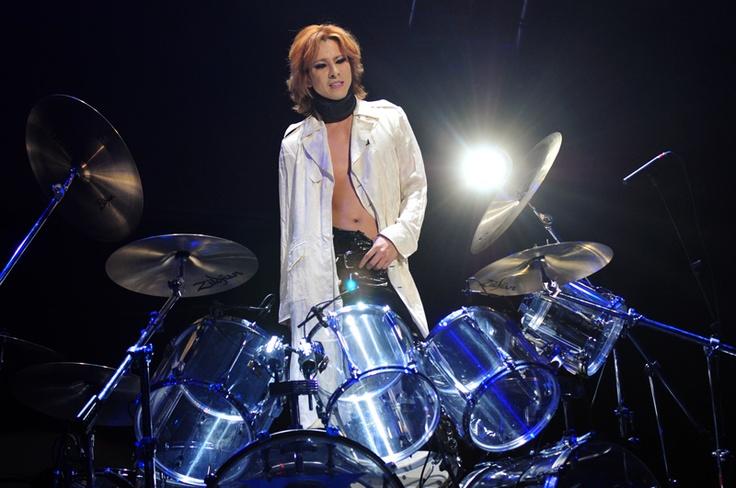 Yoshiki . Chile . X-Japan . Drum
