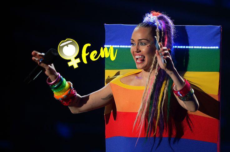 Apoyando a la comunidad LGBT: Miley Cyrus