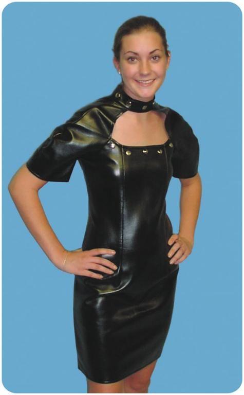 EZ Rider Biker Dress Adult Costume,$27.99