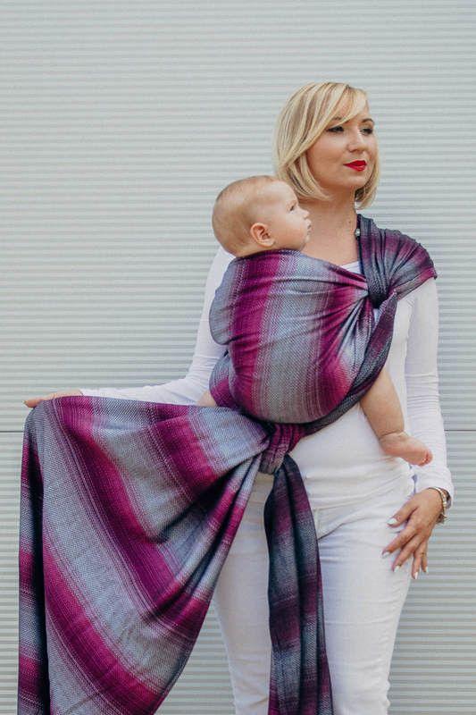 Porte-bébé écharpe tissée par Lennylamb - Little Herringbone Inspiration