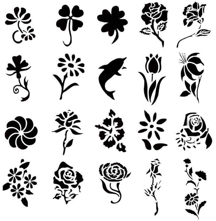 Temporary Henna Tattoo Designs: 33 Best Temporary Tattoo Stencils Images On Pinterest