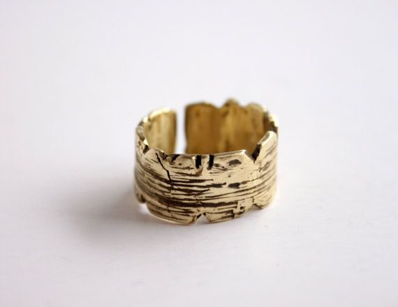 Band ring textured ring unisex ring hammered ring men mens