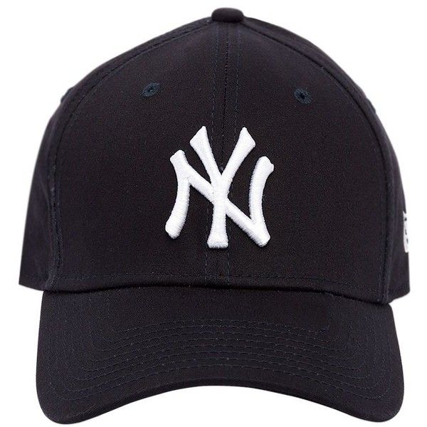 72a3701b92a50 New Era Women 39thirty New York Yankees Mlb Hat ( 37) ❤ liked on Polyvore  featuring accessories