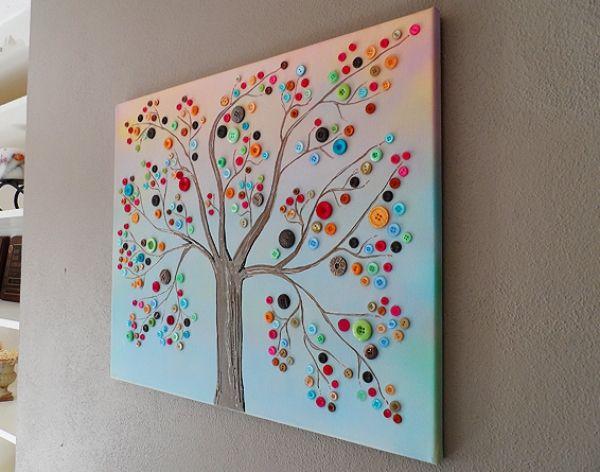 Κατασκευή: Δέντρο από κουμπιά!