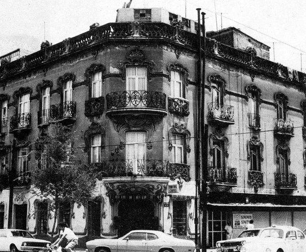 El edificio estilo Art Nouveau ubicado en Guanajuato y Mérida, colonia Roma, años setenta Cd Méx en el Tiempo (@cdmexeneltiempo) | Twitter