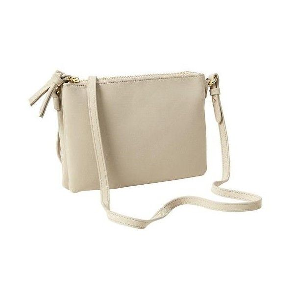 Gap Women Faux Suede Crossbody Bag ($25) ❤ liked on Polyvore featuring bags, handbags, shoulder bags, brown cross body purse, brown cross body handbags, gap handbags, brown shoulder bag and zip shoulder bag