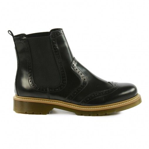 Chelsea-Boots Broguestil