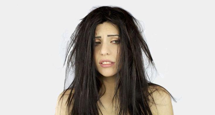 How to lighten dyed hair that is too dark blu salon