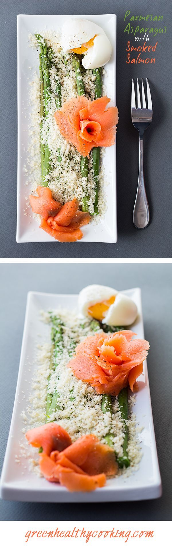 Need a super quick and easy lunch? 15 mins and boiling water in a pot quick and easy enough? This Parmesan Asparagus with Smoked Salmon recipe is for YOU!