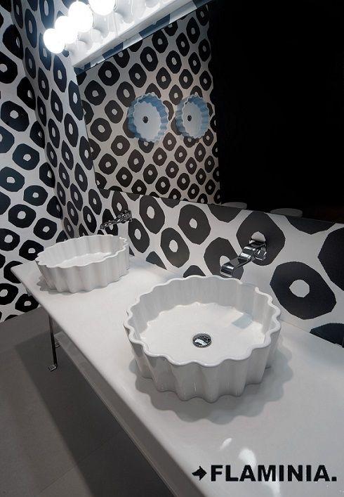 Doppio Zero – lavabo / basin - P.Navone 2011 #CeramicaFlaminia #design