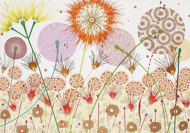 370 best artsy flower power images on pinterest for Buy original art online