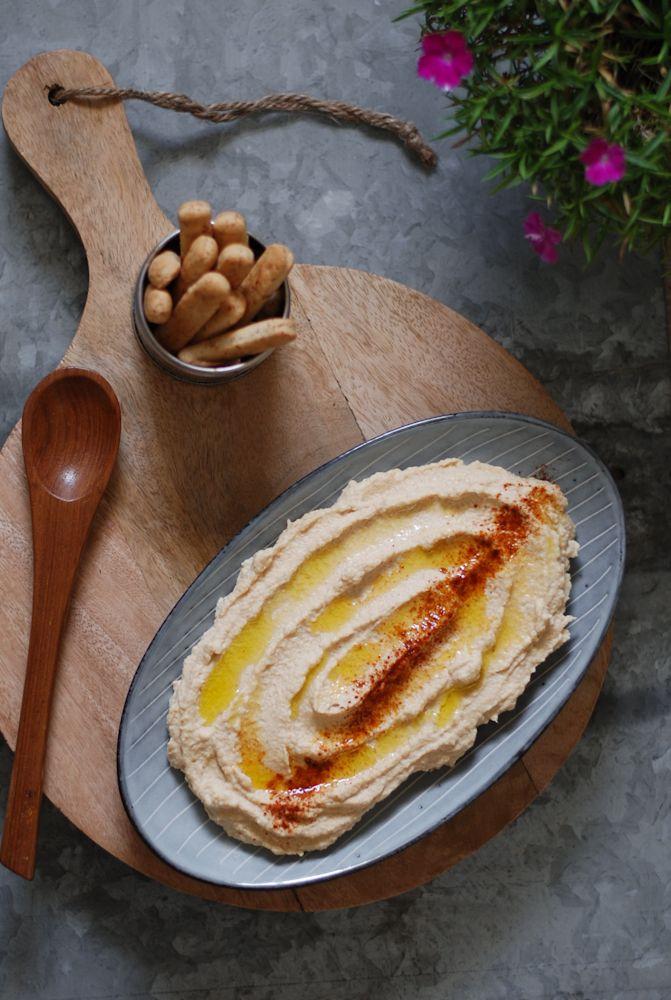 Smoky cauliflower hummus - Hummus de coliflor ahumada - El bistrot de Carmen