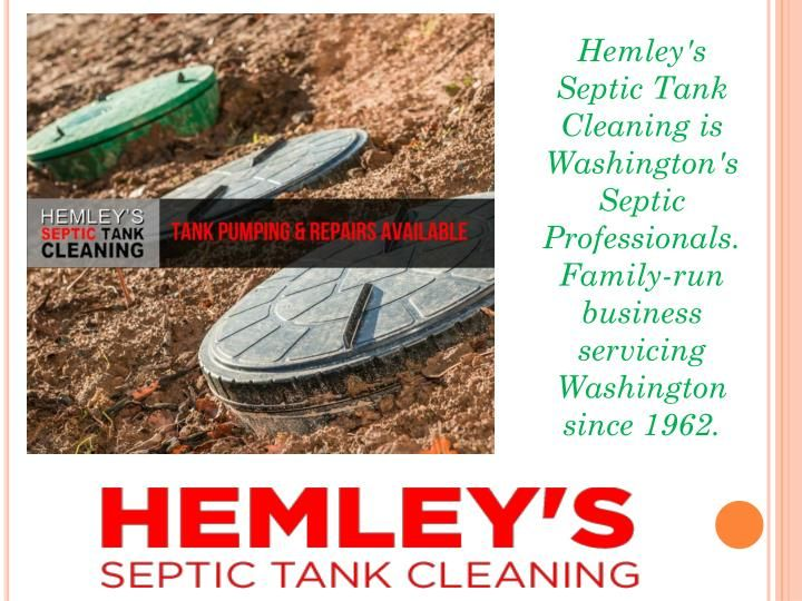 A septic pumping service will likewise give an intensive review of the septic tank once it is pumped clean. They will assess the tank, valves and channel and outlet ports for damage, for example, splits or stops up. They will likewise assess the ground around the tank for indications of holes also.  https://www.hemleyseptic.com/