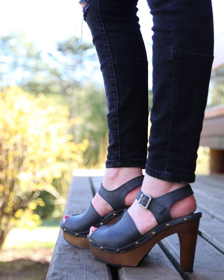 Milán Mirna - Floater wax Negro Kebba Shoes