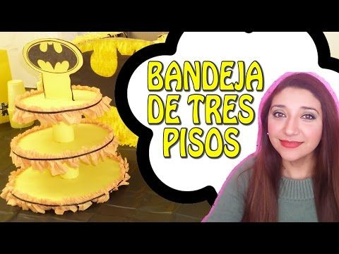 BANDEJA DE TRES PISOS - PAITO - YouTube