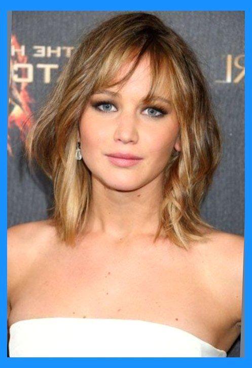 Medium Length Hairstyles With Wispy Bangs