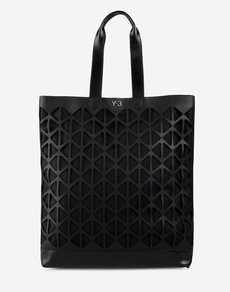 Large leather bag Men - Handbags Men on Y-3 Online Store