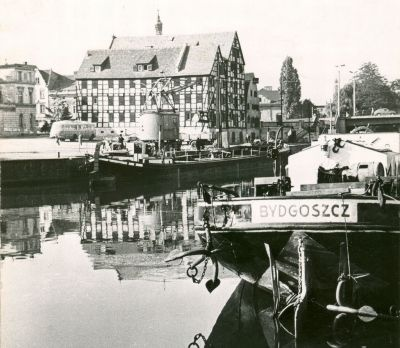 Brda River, Bydgoszcz, Poland