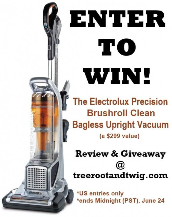 Introducing the Electrolux Precision Vacuum with Brushroll Clean Technology {Review & Giveaway}