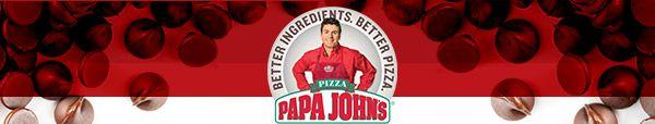 Papa John's - Better Ingredients. Better Pizza.