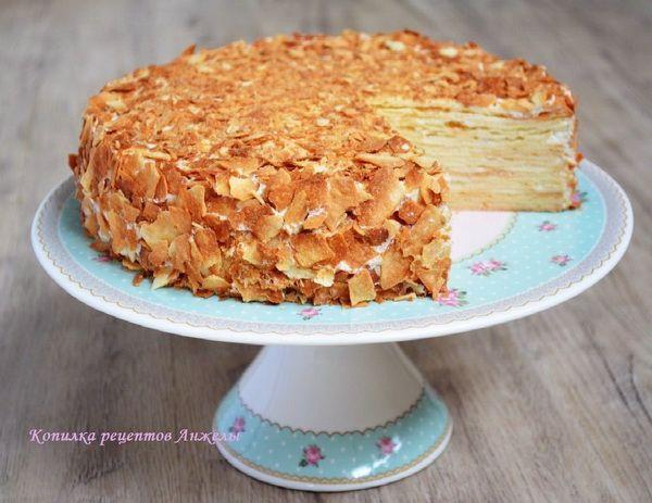 Торт «Наполеон» по школьному рецепту от Ирины Хлебниковой