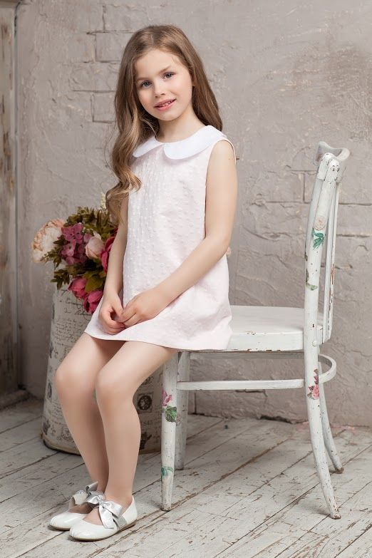 #cotton #pink #white #bibiona #collar #bibiona #dress #cruise