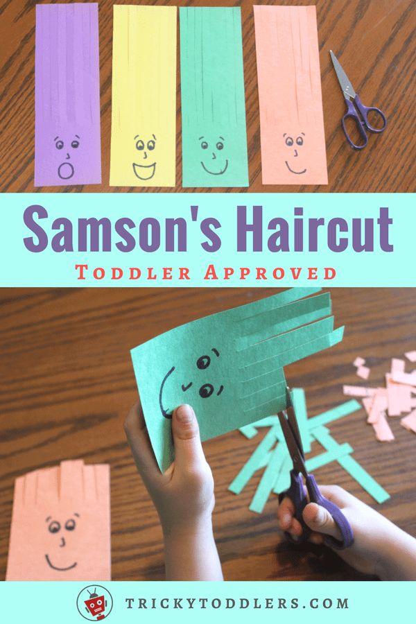 Scissors Practice Activity Samson Haircuts