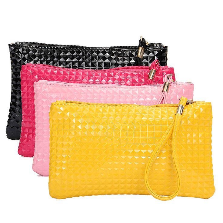 $1.84 (Buy here: https://alitems.com/g/1e8d114494ebda23ff8b16525dc3e8/?i=5&ulp=https%3A%2F%2Fwww.aliexpress.com%2Fitem%2FHigh-Quality-Bolsa-Feminina-Luxury-Handbags-Women-Bags-Designer-Channels-Bolsas-Women-Leather-Bag-Ladies-Mini%2F32686315401.html ) Women Black Hand Bag Mini Tas Clutch a bag Fashion Leather Zip Evening Envelope Clutch Bags Ladies Hand Bags Mobile Phone Purse for just $1.84